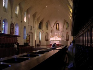 Personal and silent adoration of the Most Blessed Sacrament