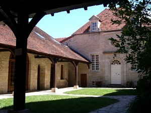 Courtyard of the guest house