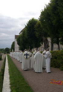 Procession of 15 August in the honor of the Blessed Virgin