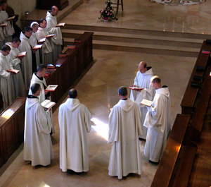 The choir and the schola